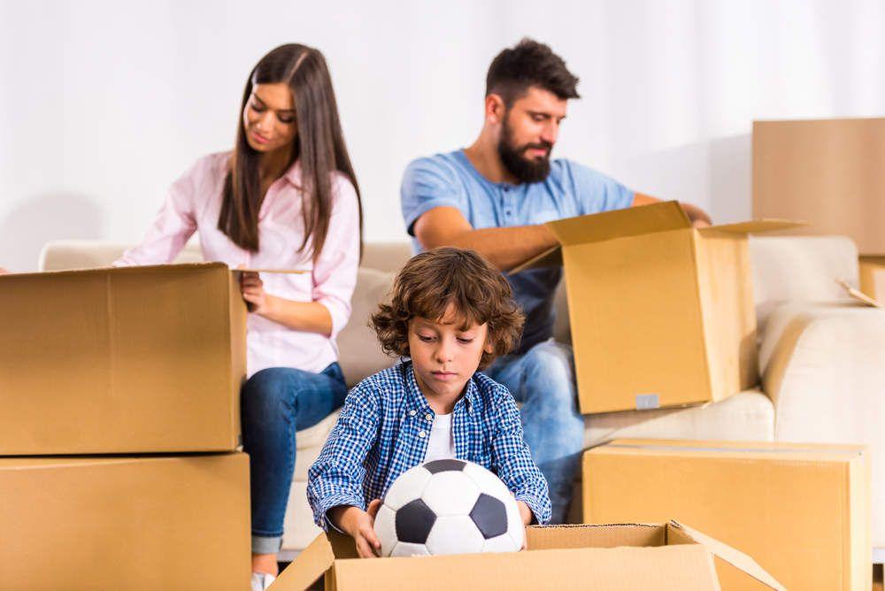 Se préparer pour un déménagement avec des enfants
